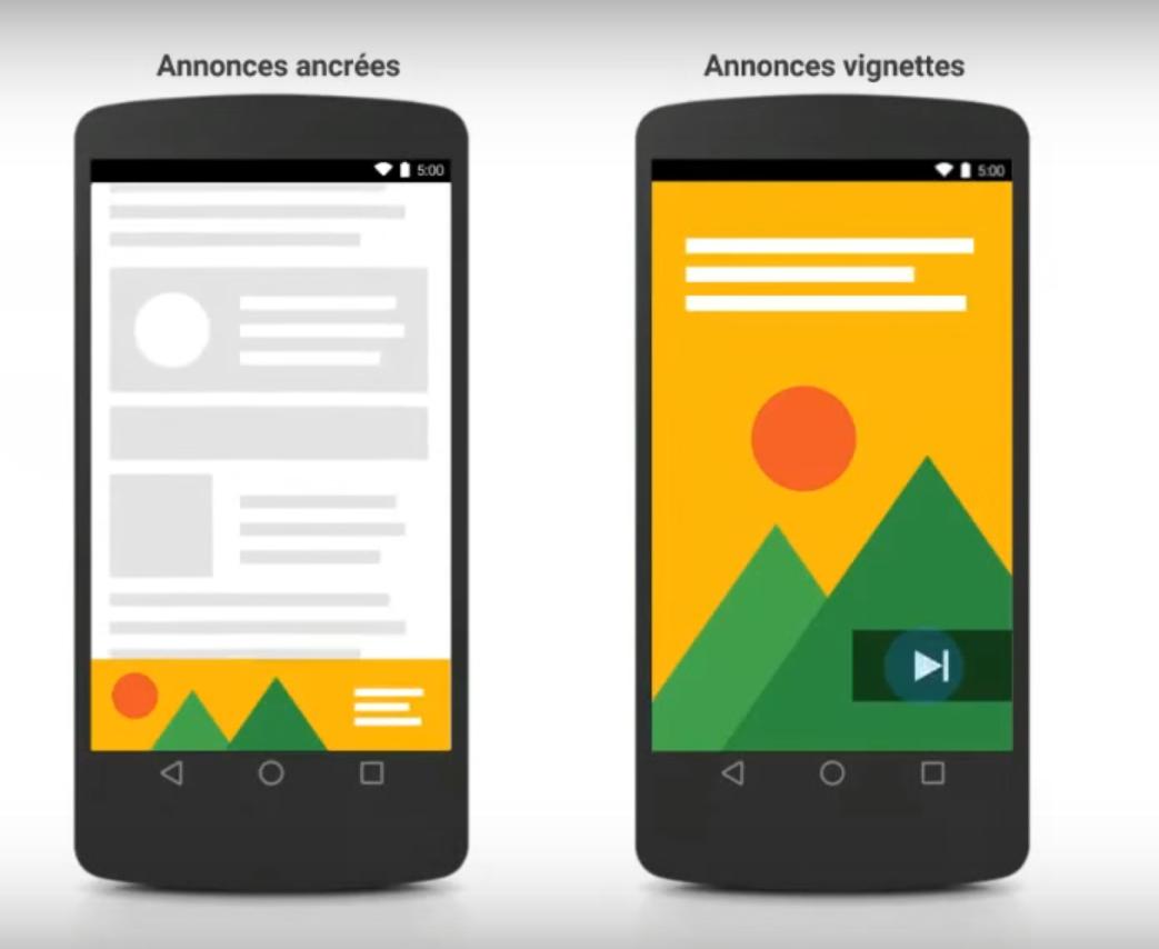 nouveaux formats Adsense Google