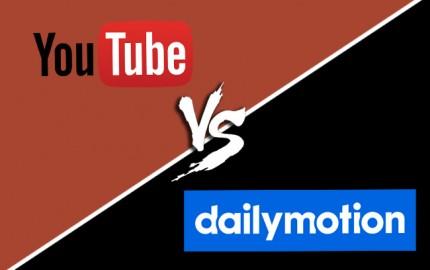 Youtube ou Dailymotion